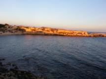 Abendsonne am Meer