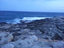 Abendliche Stimmung am Meer