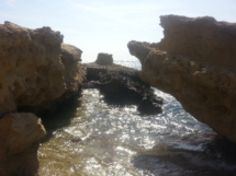 Felsen am Strand
