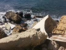 Wrack am Strand