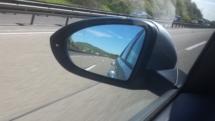 Auf der Autobahn